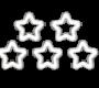Stars Image - White